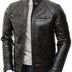 Men's Black Leather Jacket