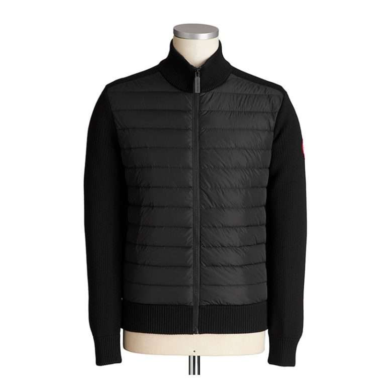 Adam HyBridge With Zip-Up Knit features a nylon front panel that helps to increase wind-resistance and breath ability